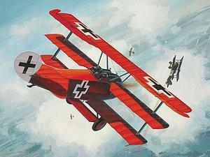 Revell 06702 - Fokker Dr. 1, Steckbausatz