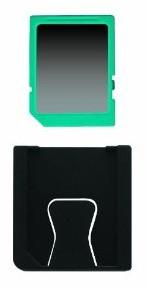 Nintendo 3DS - Game Card Cases Blau (24 Spiele) - zum Schließen ins Bild klicken