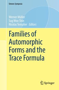 Families of Automorphic Forms and the Trace Formula