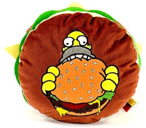 United Labels 0110072 - Simpsons: Kissen, Hamburger