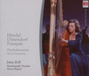 Händel/Dittersdorf/Francaix: Harfenkonzerte