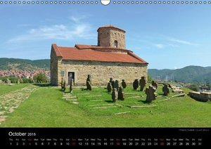 Monuments of Serbia 2015 (Wall Calendar 2015 DIN A3 Landscape)