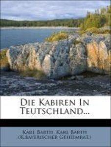 Die Kabiren In Teutschland...