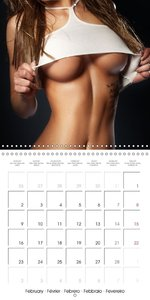 Erotica . Back views and body parts (Wall Calendar 2015 300 × 30