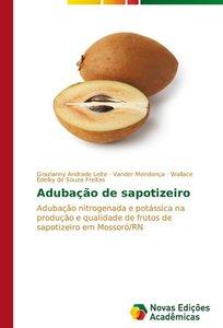 Adubação de sapotizeiro