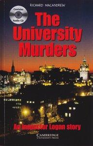 The University Murders. Buch und CD