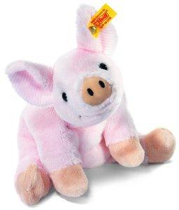 Steiff 281266 - Sissi Schwein liegend, 16 cm, rosa