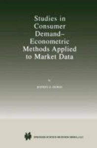 Studies in Consumer Demand - Econometric Methods Applied to Mark