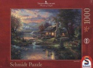 Thomas Kinkade, Im Naturparadies. Puzzle 1000 Teile