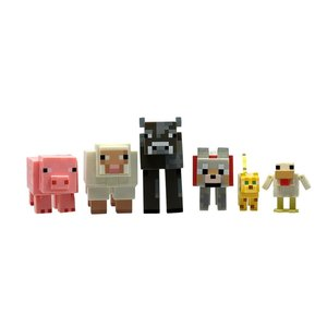 Minecraft - Tame Animal Pack Spielfiguren