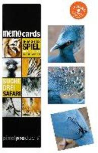 Pixelproducts MC004 - MemoCards: Suche Drei Safari
