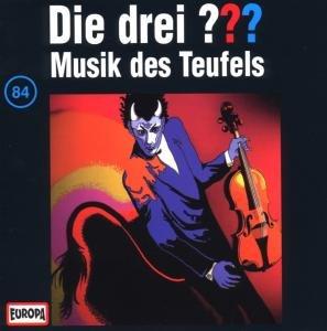 Die drei ??? 084. Musik des Teufels. (drei Fragezeichen). CD