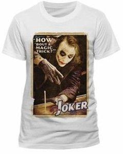 Magic Trick (T-Shirt,Weiss,Größe S)