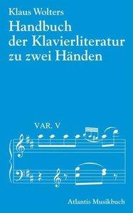 Handbuch der Klavierliteratur