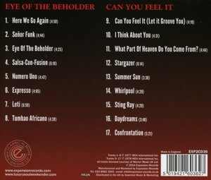 Eye Of The Beholder/Can You Feel It?