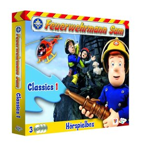 Feuerwehrmann Sam Classics-Hörspiel Box 1 (3CDs)