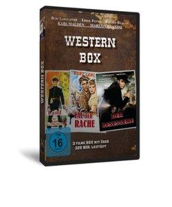 Western Box:Der Besessene/Im Tal Der Rache/Land De