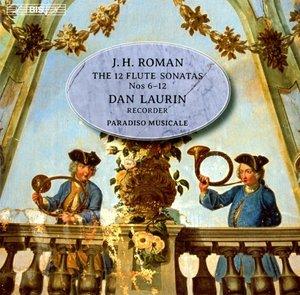 12 Sonaten für Flöte und b.c.: Sonaten 6-12