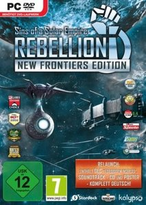 Sins of Solar Empire Rebellion: New Frontiers Edition (Hammerpre