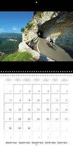 Alpine Passes on the Racing Bike Vol. 1 (Wall Calendar 2015 300