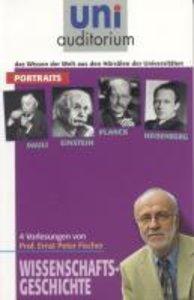 Portraits: Pauli, Einstein, Planck und Heisenberg