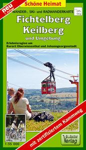 Fichtelberg, Keilberg und Umgebung 1 : 35 000