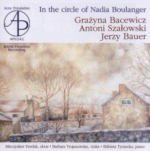 Im Unkreis von Nadia Boulanger