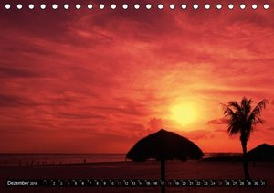 Romantic Sunsets (CH - Version) (Tischkalender 2016 DIN A5 quer)