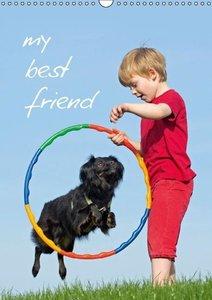 my best friend / UK-Version (Wall Calendar 2015 DIN A3 Portrait)