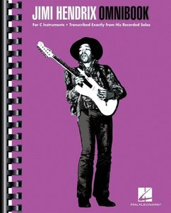 Jimi Hendrix Omnibook For C Instruments