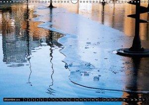 Réflexions sur glace (Calendrier mural 2015 DIN A3 horizontal)