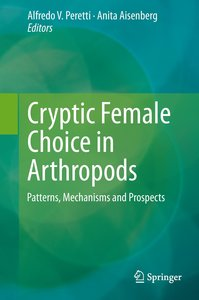 Cryptic Female Choice in Arthropods