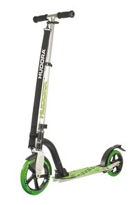 Hudora 14230 - Bold Wheel 230 Scooter, 230mm, grün