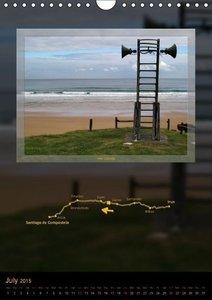 Camino del norte / UK-Version (Wall Calendar 2015 DIN A4 Portrai