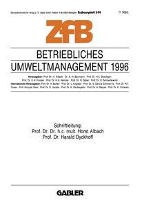 Betriebliches Umweltmanagement 1996
