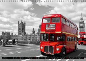 LONDON - Cityscapes (CH - Version) (Wandkalender 2016 DIN A3 que