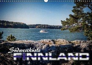 Südwestküste Finnland (Wandkalender 2016 DIN A3 quer)