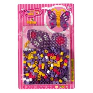 Hama 8908 - Maxiperlenset Schmetterling, circa 250 Bügelperlen,