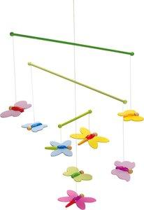 Goki 52964 - Mobile Schmetterlinge, Holz