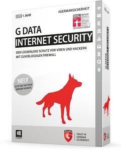 G Data InternetSecurity 2015 - Schutz für 1 Jahr/3PCs