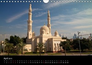 Schickert, P: Dubai und Abu Dhabi (Wandkalender 2015 DIN A4