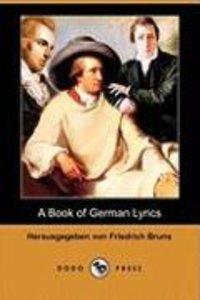 A Book of German Lyrics (Dodo Press)