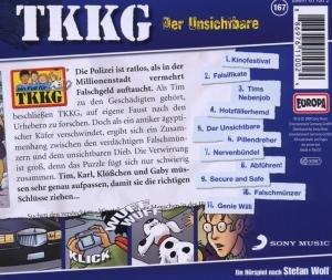 TKKG 167. Der Unsichtbare