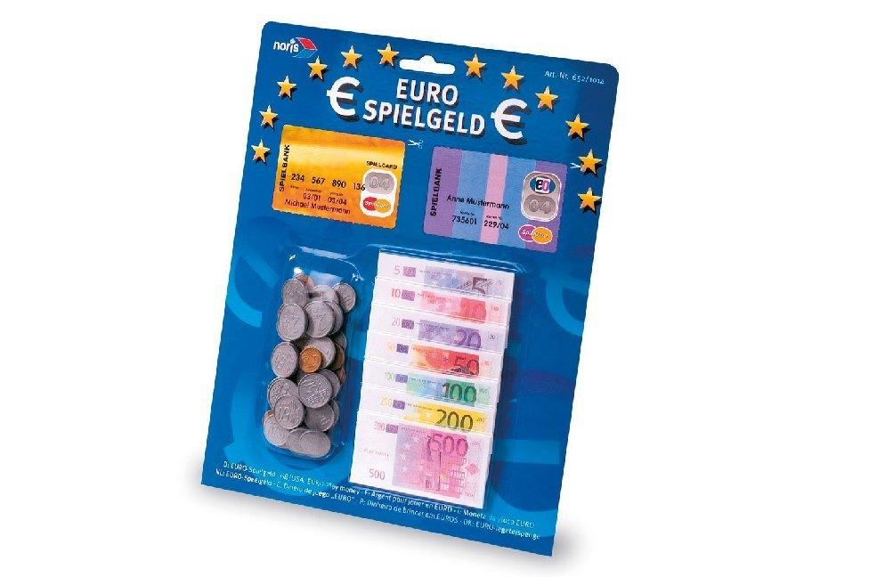 Zoch 606521014 - Spielgeld, Scheine und Münzen in Euro - zum Schließen ins Bild klicken