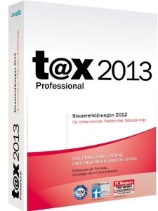 t@x 2013 Professional - Steuersoftware