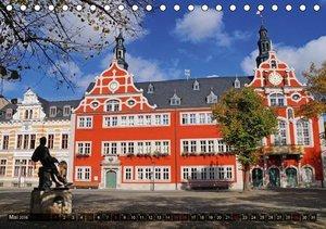 Rathäuser Mittel-Deutschlands (Tischkalender 2016 DIN A5 quer)