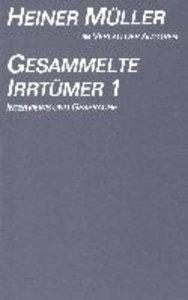 Müller, H: Gesammelte Irrtümer