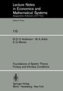 Foundations of System Theory: Finitary and Infinitary Conditions