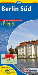ADFC-Regionalkarte Berlin Süd 1 : 50 000