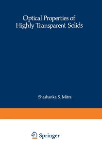 Optical Properties of Highly Transparent Solids